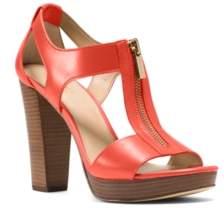 Michael Kors Michael Berkley T-Strap Platform Dress Sandals Women's Shoes