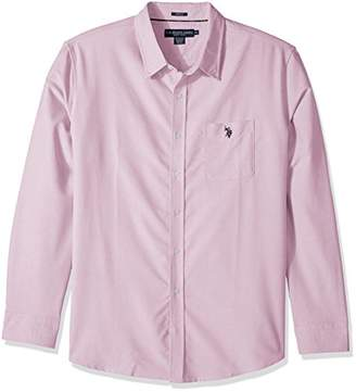 U.S. Polo Assn. Men's Long Sleeve Classic Fit Solid Shirt
