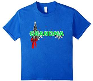 Grandma Family Christmas Matching Pajamas shirt Gift T-Shirt