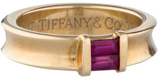 Tiffany & Co. Ruby Stacking Ring $595 thestylecure.com