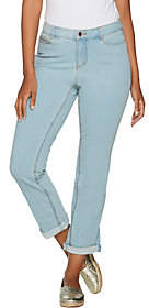 C. Wonder Petite Functional Cuffed Ankle Jeans