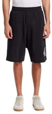 McQ Dart Low Crotch Patch Shorts