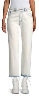 Marc Jacobs Cropped Straight-Leg Jeans