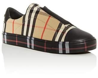 Burberry Unisex Belside Slip-On Sneakers - Toddler, Little Kid