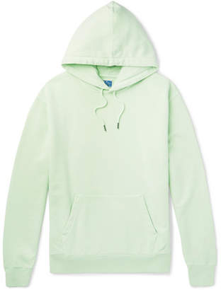 J.Crew Garment-Dyed Loopback Cotton-Jersey Hoodie