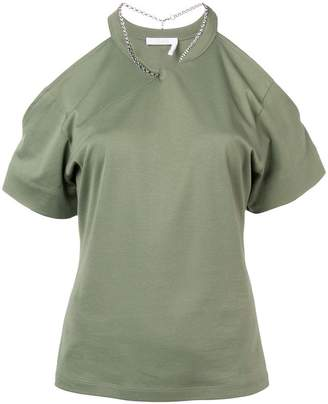 b5a50f15311fa8 Green Cold Shoulder Women s Tops - ShopStyle