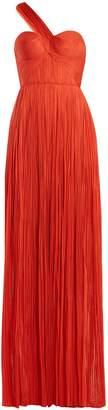 Maria Lucia Hohan Izara pleated silk gown