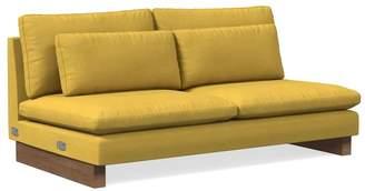 west elm Double Armless Sofa