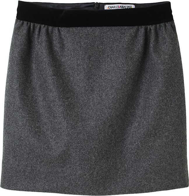Charles Anastase / Mini Wool Skirt
