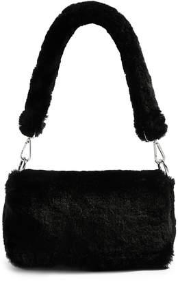 Topshop Cici Faux Fur Shoulder Bag