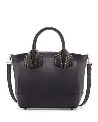 Christian Louboutin Christian Louboutin Eloise Large Leather Tote Bag, Black