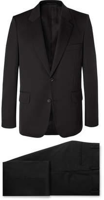 The Row Black David Slim-Fit Wool-Twill Suit