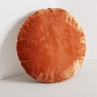 west elm Round Lush Velvet Pillows
