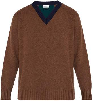 PRESIDENTS Wool V-neck sweater