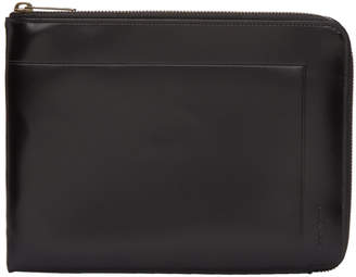 Maison Margiela Black Medium Zip Pouch