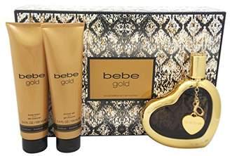 Bebe Gold 3 Piece Gift Set