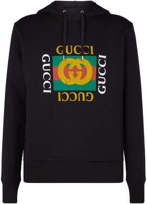 Gucci Logo Hoodie