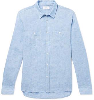 Mr P. Mélange Linen Shirt