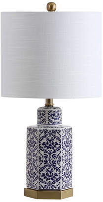 "Jonathan Y Diana 23.5"" Ginger Jar Ceramic,Metal LED Table Lamp"
