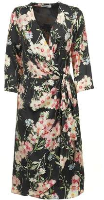 Essentiel Floral Wrap Dress