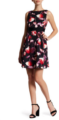 Adrianna Papell Floral Fit & Flare Dress (Regular, Petite & Plus) $150 thestylecure.com