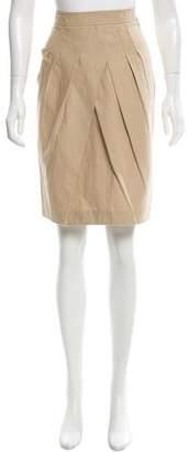 Tory Burch Knee-Length Overlay Skirt