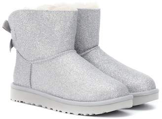UGG Mini Bailey Bow glitter ankle boots