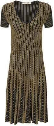 Roberto Cavalli Python Jacquard Dress