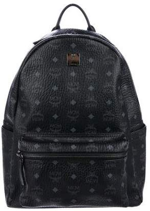 MCM Visetos Medium Stark Backpack