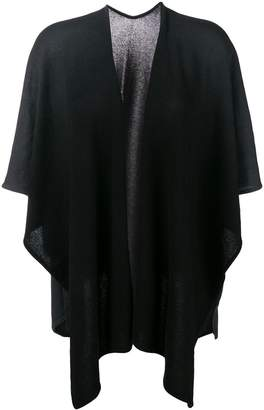 Hemisphere open front shawl