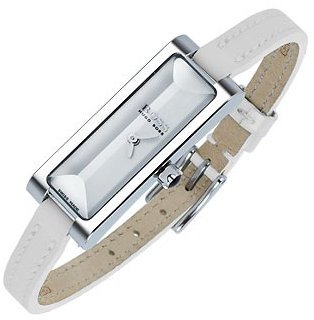 Hugo Boss Donna - Ladies' White Thin Leather Band Watch