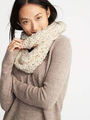 86eb1aa8f61 at Old Navy · Old Navy Textured Basket-Weave Infinity Scarf for Women