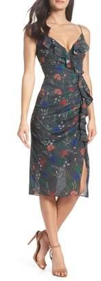 Cooper St Abella Floral Frill Dress