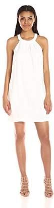 BCBGMAXAZRIA Azria Women's Trisytn Short Dress with Keyhole, XS