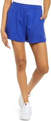 BP Cuff Hem Linen Blend Shorts