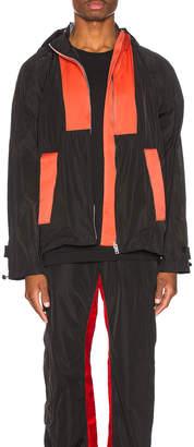 Wales Bonner Patchwork Anorak Jacket in Black & Multi | FWRD