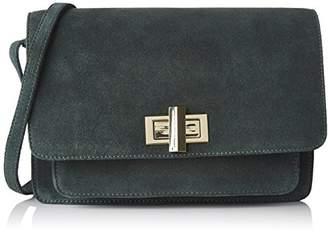 Petite Mendigote Rimbaud, Women's Cross-Body Bag, Vert (Duck), 6x16x22.5 cm (W x H L)