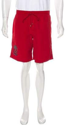 Couture Billionaire Italian Embroidered Swim Shorts w/ Tags