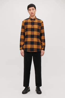 Cos CHECKED COTTON SHIRT