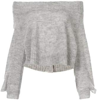 Taylor Situation off shoulder sweater
