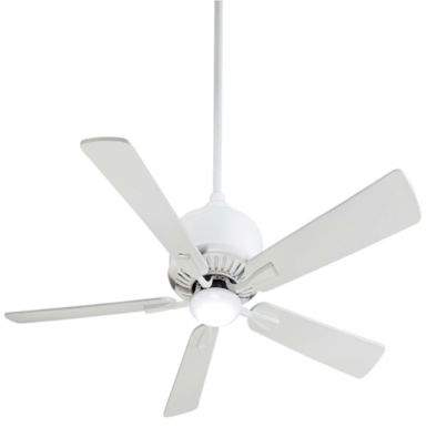 Minka Aire Minka-Aire Contractor 52-Inch LED Single-Light Ceiling Fan in White
