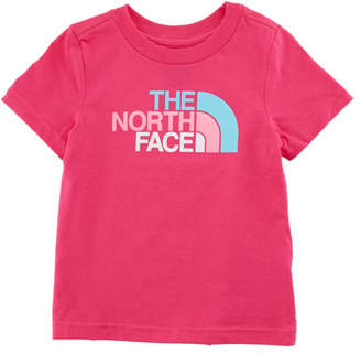 The North Face Short-Sleeve Logo Graphic Tee, Size 2-4T