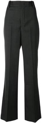 Etoile Isabel Marant check high waisted trousers