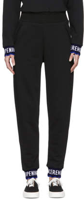 Opening Ceremony Black Scalloped Logo Lounge Pants