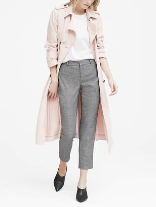 Banana Republic Petite Avery Straight-Fit Heathered Ankle Pant