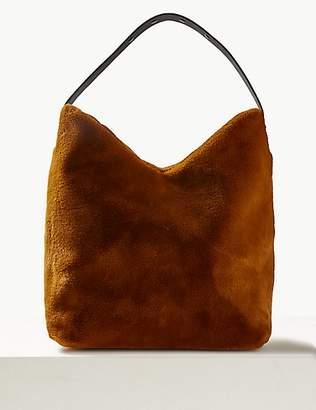 M&S Collection Faux Fur Shoulder Bag