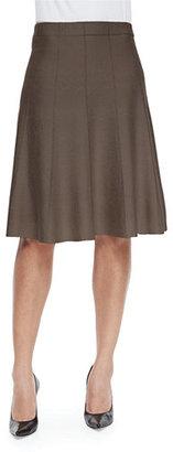 NIC+ZOE Paneled Twirl Skirt, Midnight $138 thestylecure.com