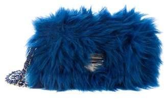 Prada Faux Fur Crossbody Bag