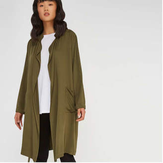 Joe Fresh Women's Drapey Tie Trench Coat