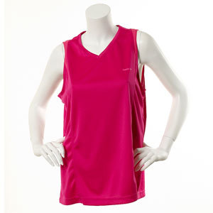 Reebok PlayDry Sleeveless Tee - Condensed Pink
